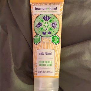 Human + kind body soufflé
